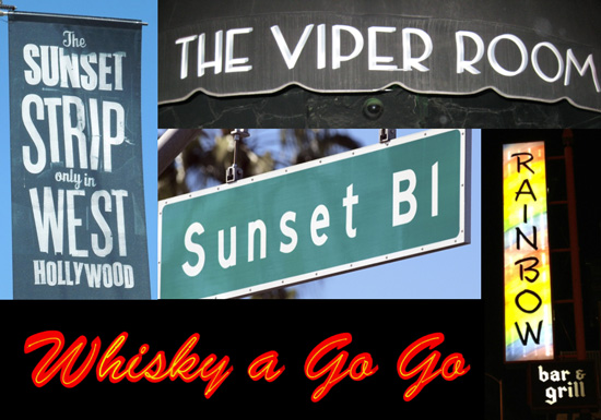 Sunset Strip Walking Tour